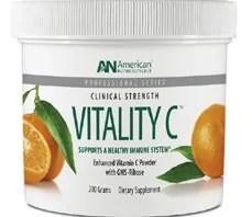 Vitality Vitamin C for iron absorption