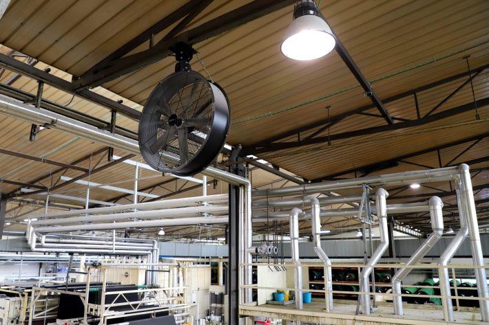 ceiling drum fan