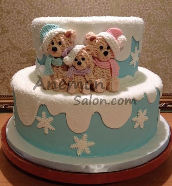 Cake New Year Cakes Delivery in Yerevan 0020 Merry Christmas North Pole