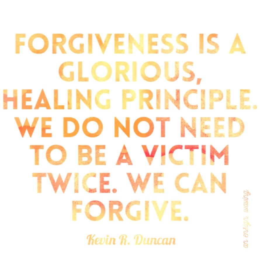 Kevin R Duncan - Forgiveness