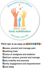 Acute rehabilitation and early mobility in the pediatric intensive care unit