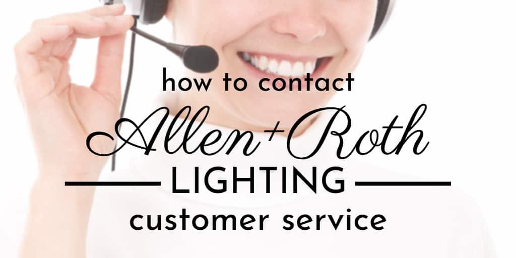 allen roth lights customer service in