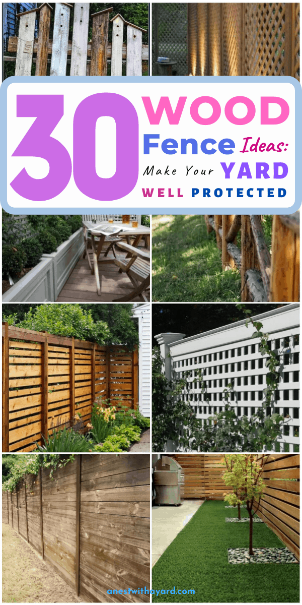 top 30 wood fence ideas for you in 2021