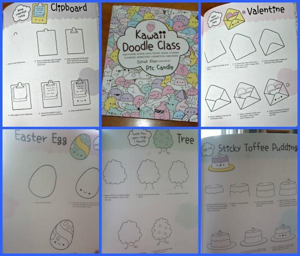 Art Book Kawaii Doodle Class A Net In Time