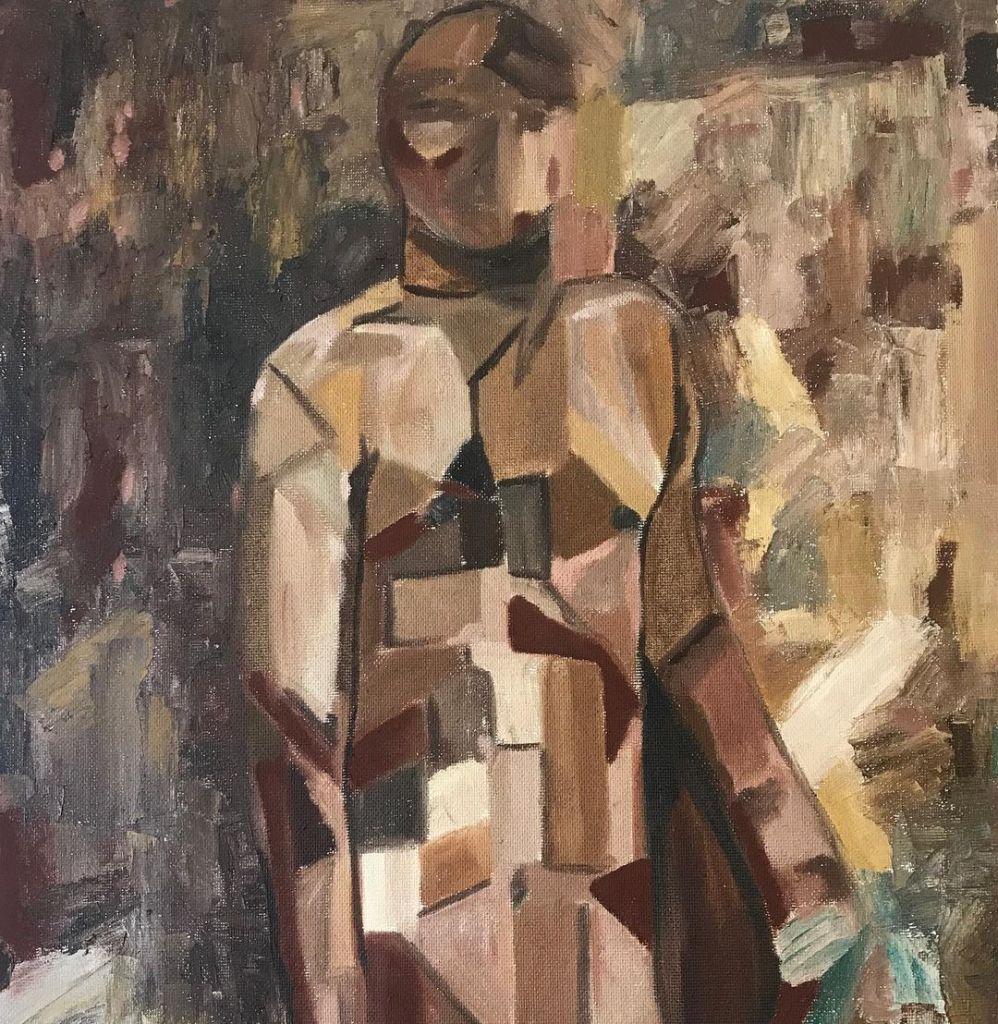 Parafras av Picasso 60x70 (oljemålning)