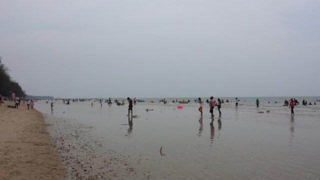 Songkran stranden