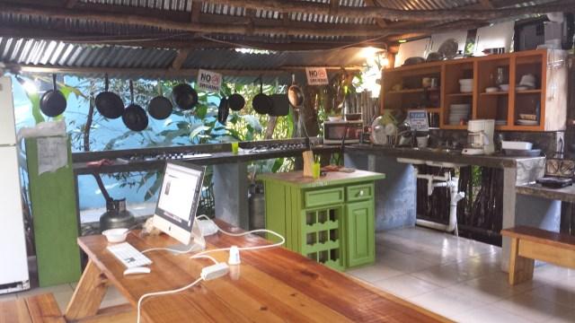 Bambu Hostel kokken