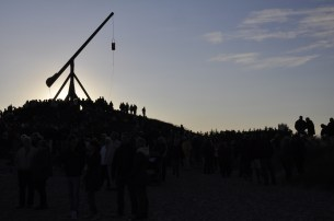 Vippefyret på Skagen Sønderstrand, Sankt Hans aften 2011