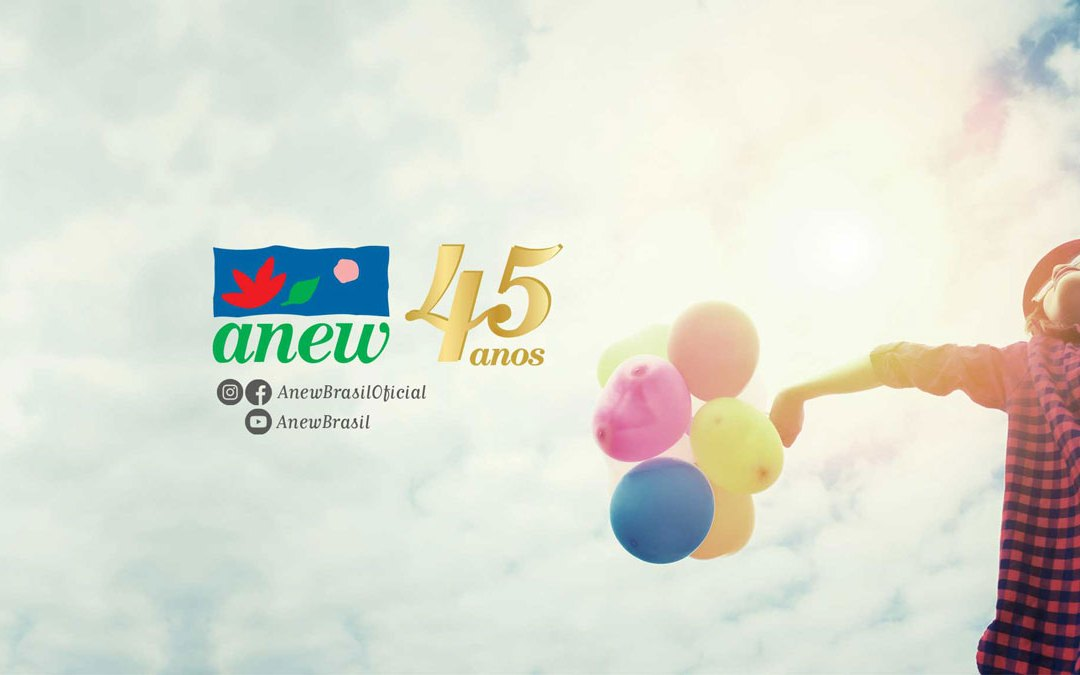Anew 45 anos