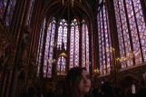 McKenna contemplates the chapel, which was built in between 1242 and 1248 for the only French king to become a saint, Louis IX.