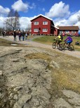 As you can see, Ullevålseter is just a teensy bit popular with hikers and bikers.