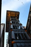 The 150-foot-tall elevator was designed in 1902 by a student of Gustave Eiffel, who designed Paris's Eiffel Tower.