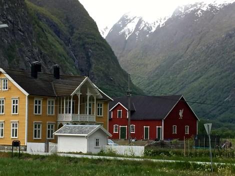 More quaint houses.