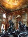 I think this was the Marble Hall in the Upper Belvedere Palace. Matthew is contemplating whether he can recreate the effect at home.