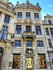 The Swan House holds one of Brussels' most expensive restaurants, which was once a bar where Karl Marx and Friedrich Engels met to write their Communist Manifesto. Wonder how they'd like the upgraded space now?
