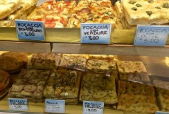 And maybe end the meal with some focaccia -- the stuff was supposedly invented in Liguria, the region in which the Cinque Terre is located.