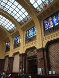 The Gellért's interior spaces are incredibly elegant. We spent at least twenty minutes just gaping at all the grandeur.