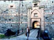 """The main fort was built between 1849 and 1856 and remained an active military base until 1993. The officer's school at Oscarsborg was finally closed in 2002, when the fortress was decommissioned. It's now one of 14 such historical fortresses maintained by the state as The National Fortifications Heritage (""""Nasjonale festningsverk"""")."""