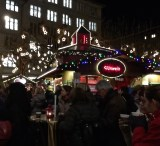 Things don't really get rockin' until nightfall, when locals line up for warm booze and a heaping hot plate of raclette.