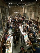 This is just one wing of the huge DogA Julemarked. It's enormous and offers an incredible array of Scandi textiles, ceramics, jewelry, photography, and screen-printing -- all done by local artists. Top quality stuff!