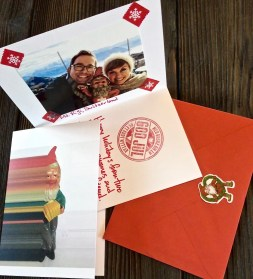 For those of you who might not have received your Christmas cards yet (they can take weeks to make the transatlantic trip), here's what to expect.