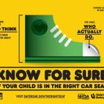 Child Passenger Safety Week 9/14 – 9/20