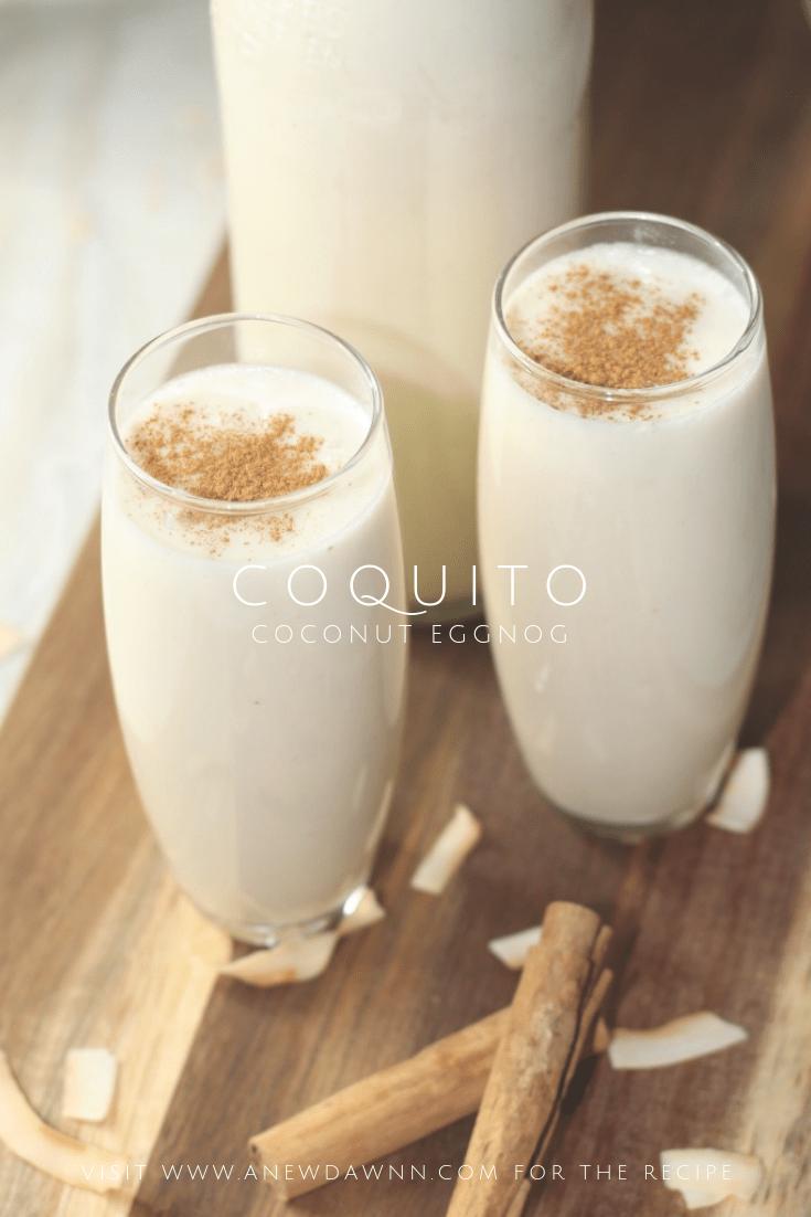 Coquito Recipe - Puerto Rican Coconut Nog