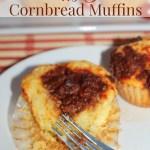 Sloppy Joe Cornbread Muffins
