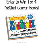 WIN 1 of 4 KidStuff Coupon Books {Giveaway}
