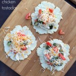 Chicken Tostadas {Recipe}