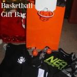 NBA Reflective Collection Gift Idea & DIY Basketball Gift Bag