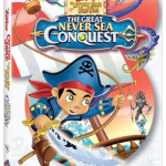 Jake and the NeverLand Pirates: The Great Never Sea Conquest Coming to DVD 1/12