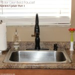 Easy Kitchen Updates Part 1 – A New Pfister Faucet