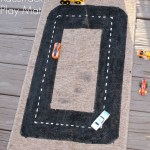 DIY Racetrack Playmat