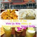Bahama Breeze Island Grille Viva La 'Rita Menu Tasting