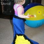 DIY Fish Tail Beach Towel Tutorial