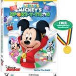 Mickey Mouse Clubhouse: Mickey's Sport-Y-Thon on DVD 5/24