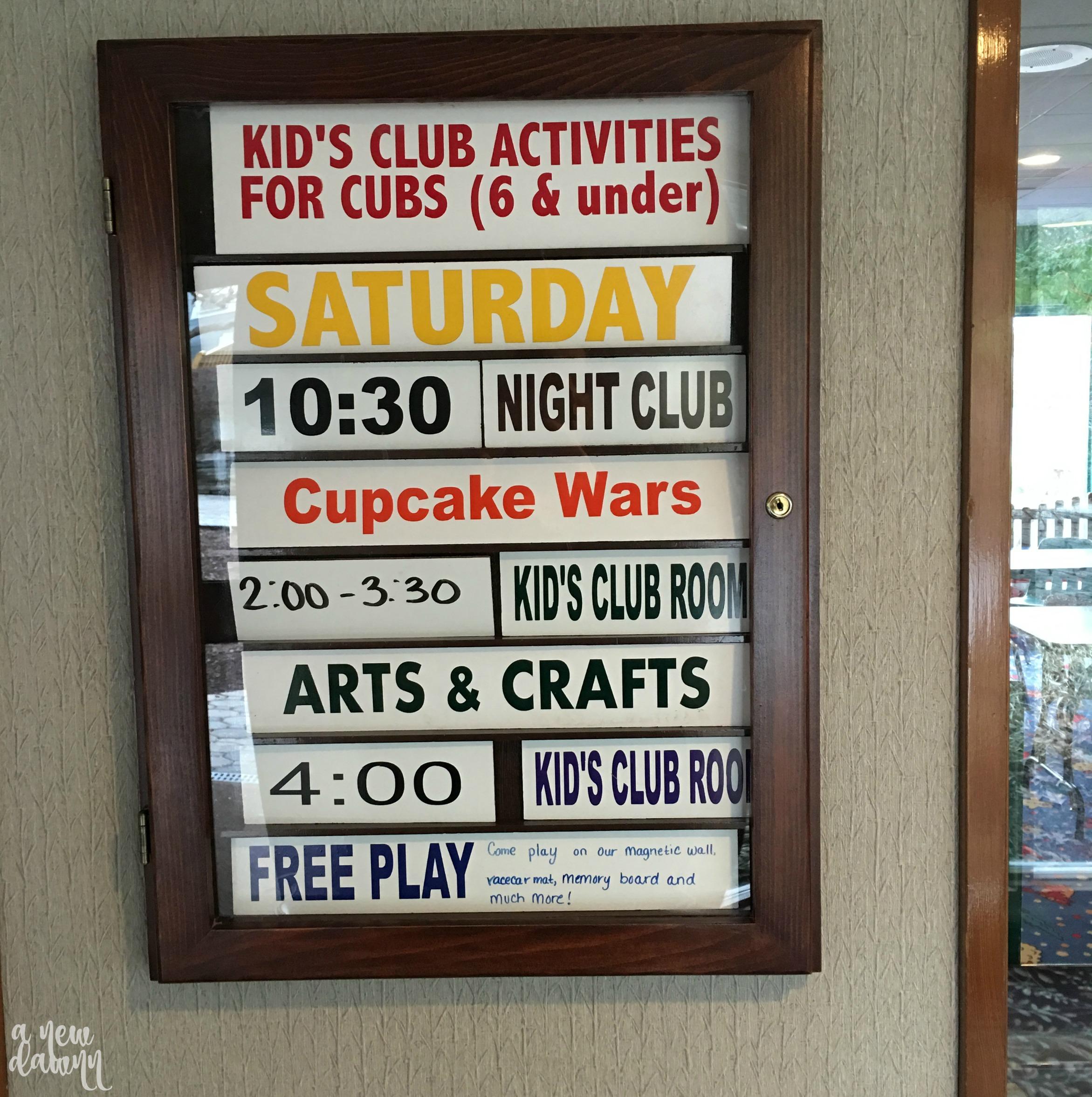 woodloch-kids-club-activities
