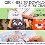 Zootopia Printable Activity Sheets & DIY Craft Ideas