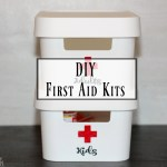 Be Prepared for Back To School with a DIY First Aid Kit