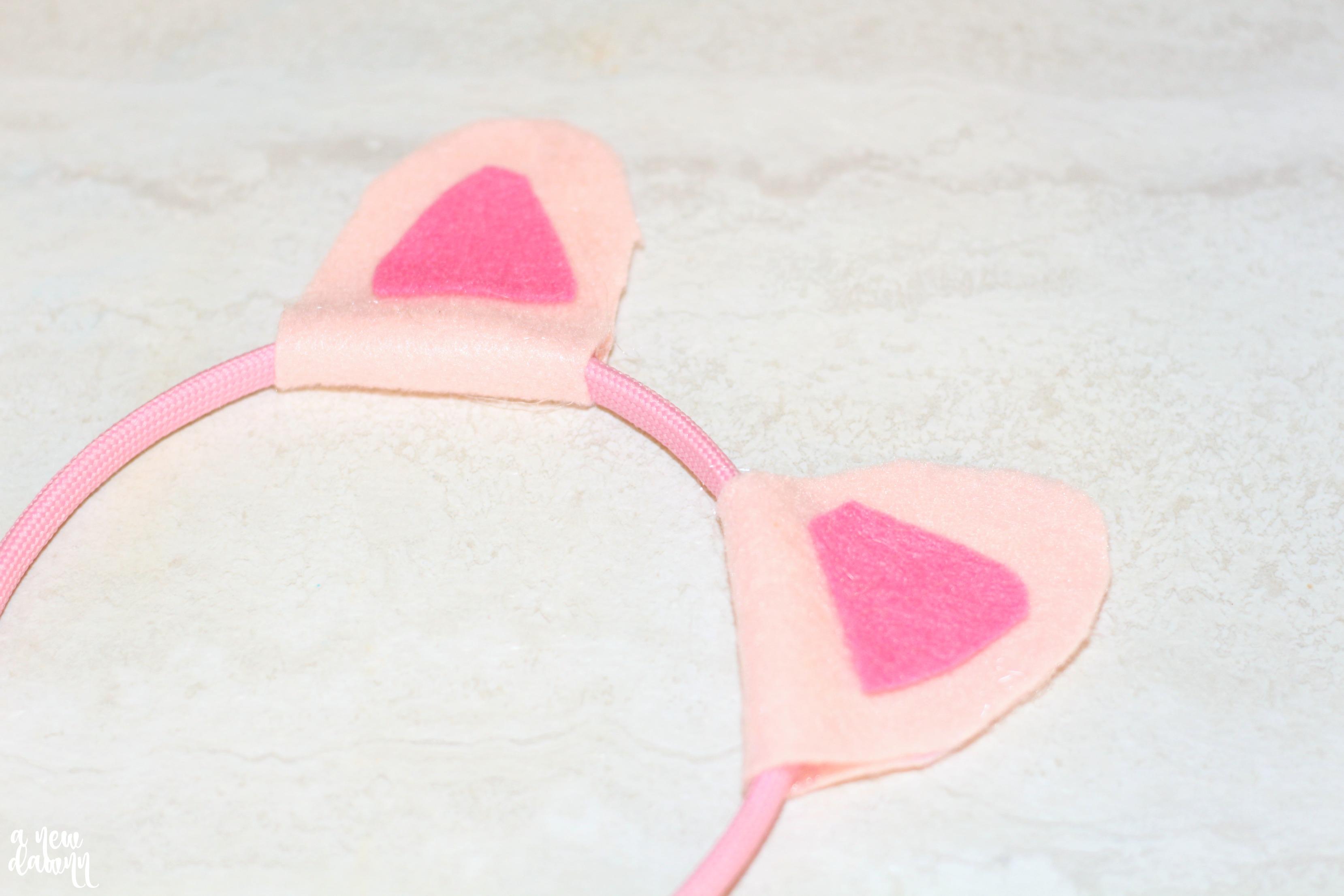 DIY Peppa Pig Headband