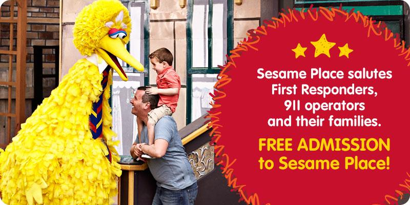 Sesame Place First Responders Weekend