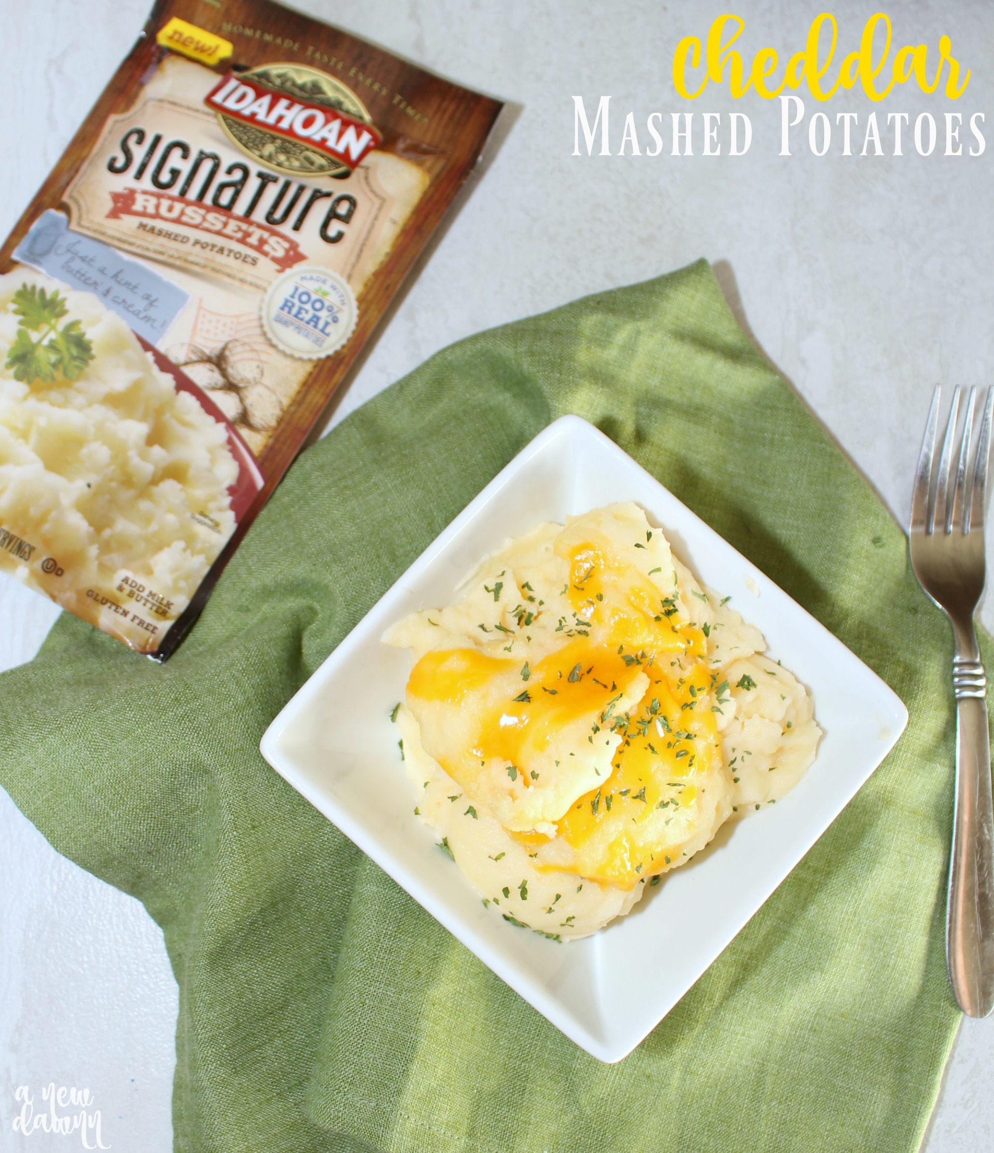 Cheddar Mashed Potatoes