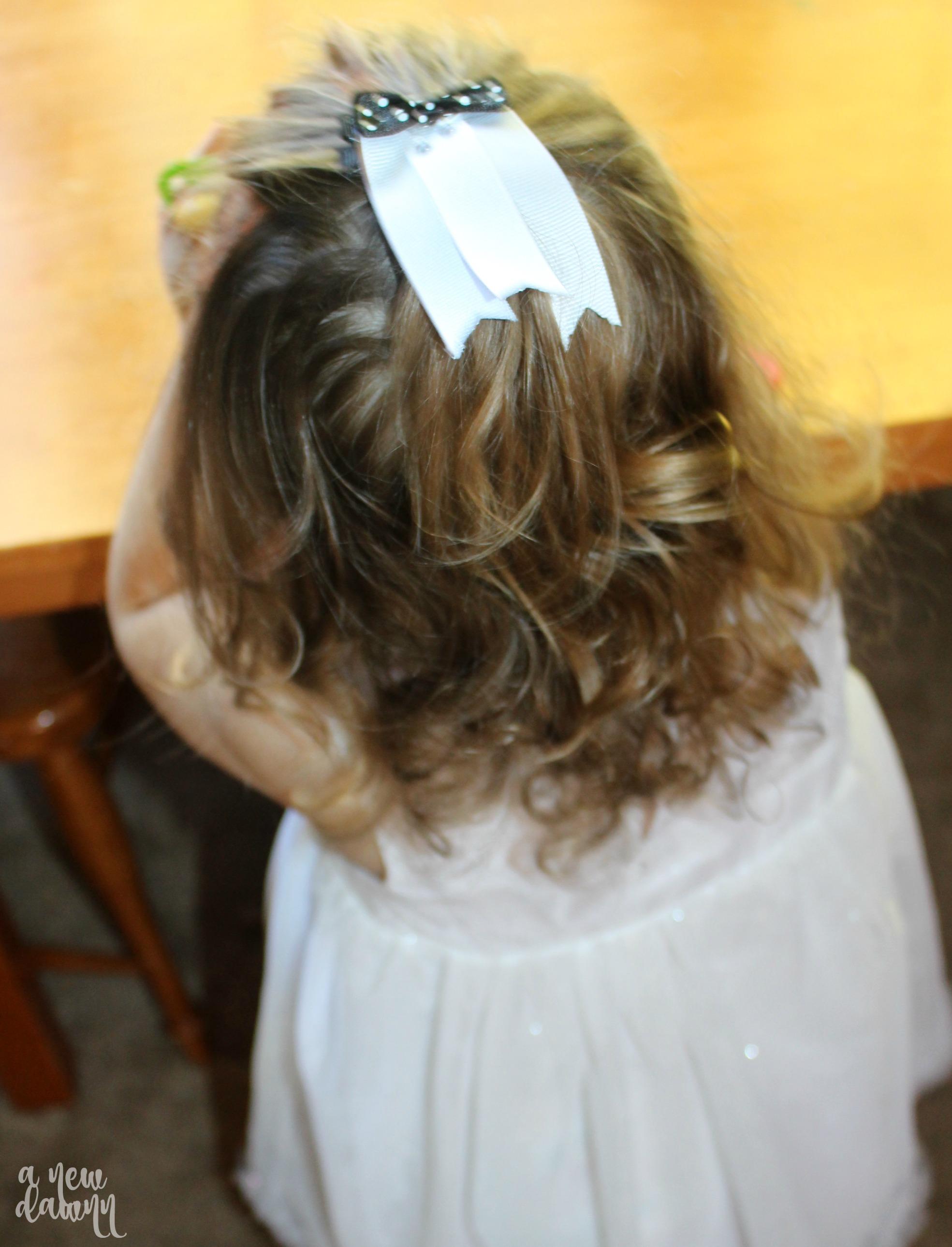 ghost hair clip