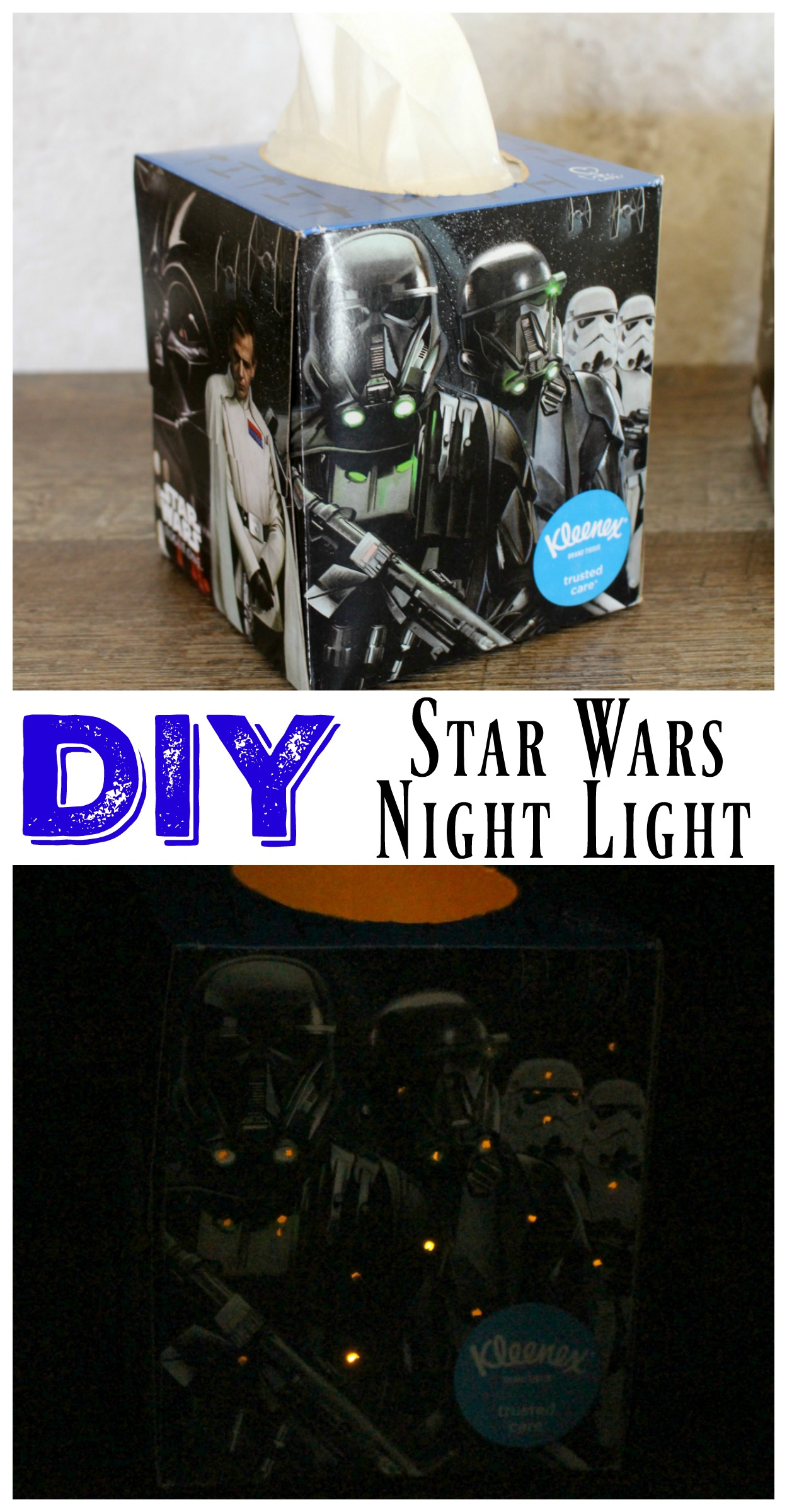 DIY Star Wars Nightlight