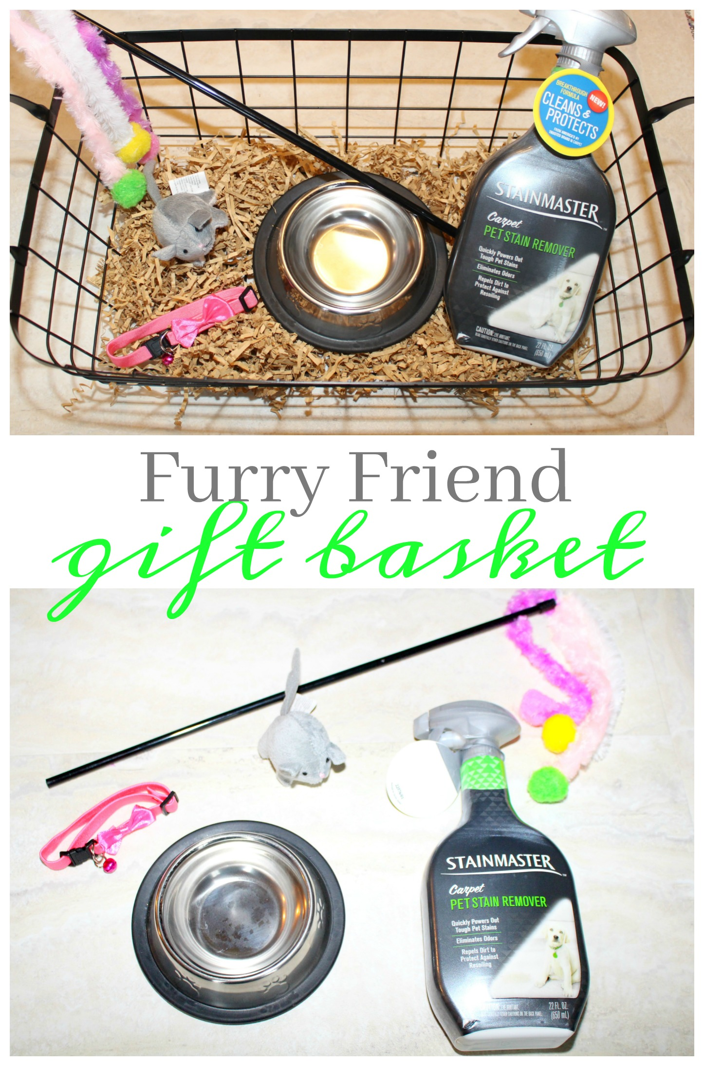 Welcome Home Pet Gift Basket