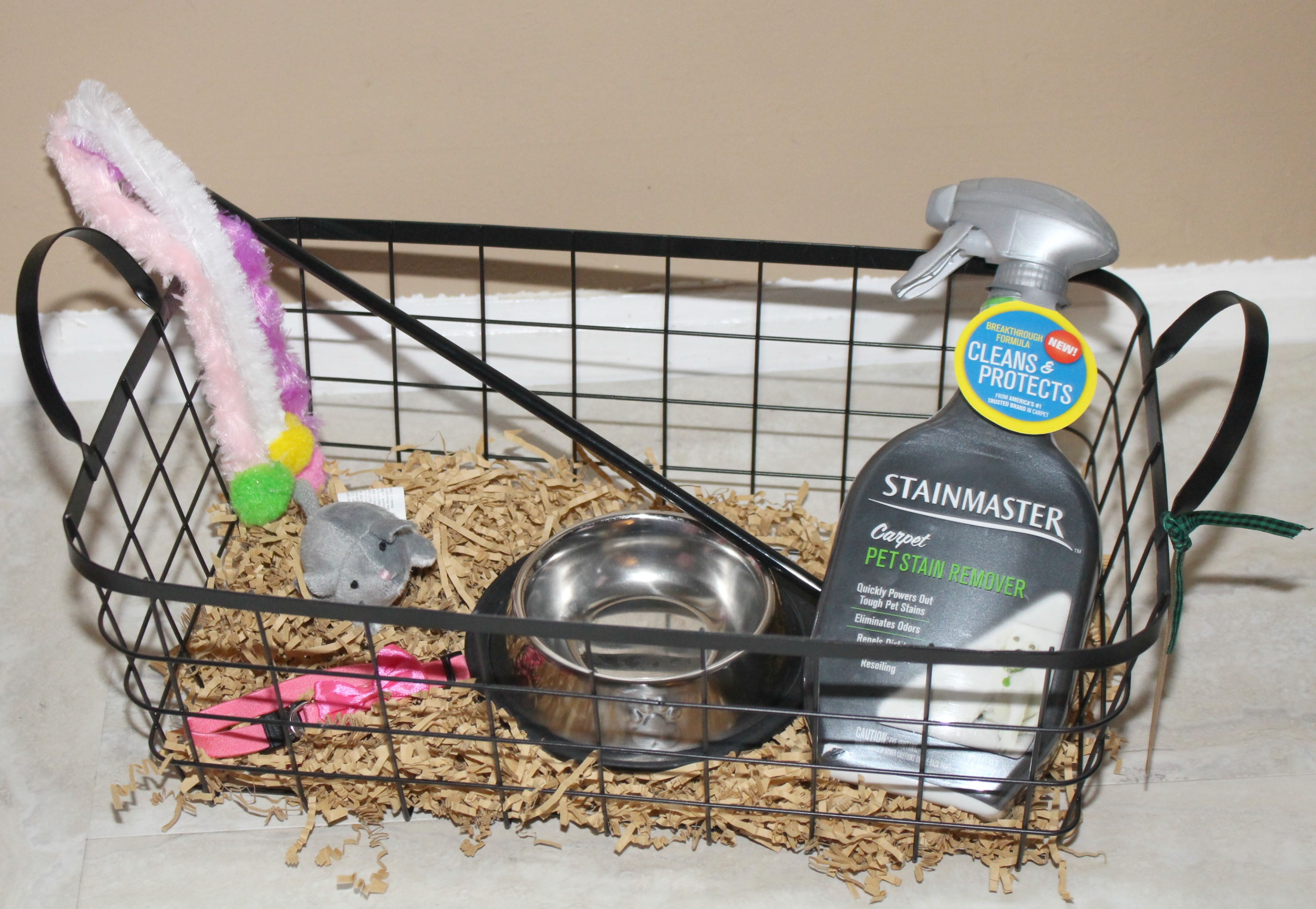& Welcome Home a New Pet with This DIY Pet Gift Basket