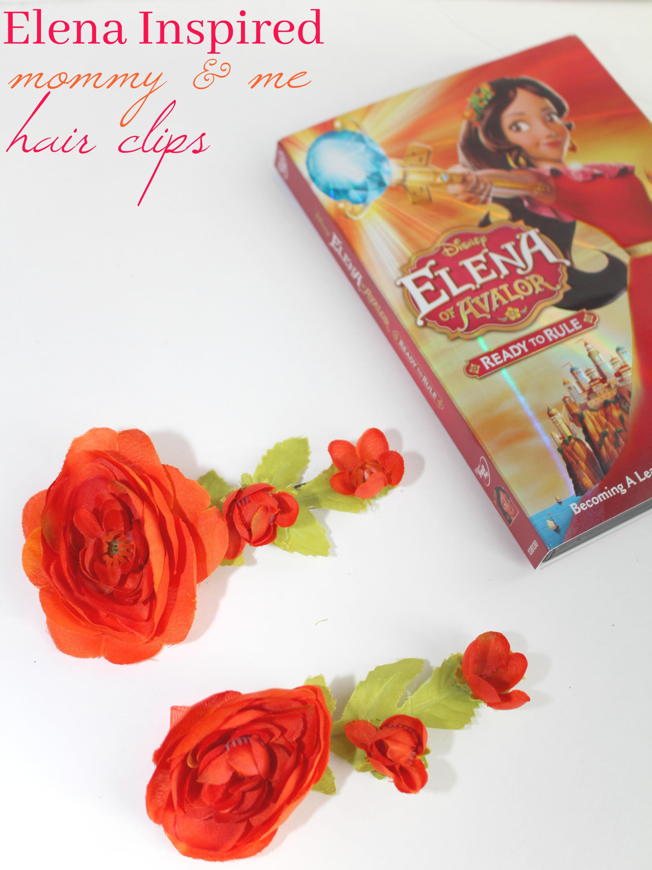 Elena of Avalor Hair Clip Tutorial