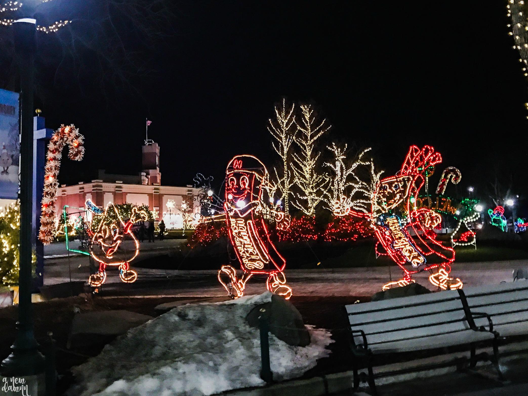 Hershey at Christmas