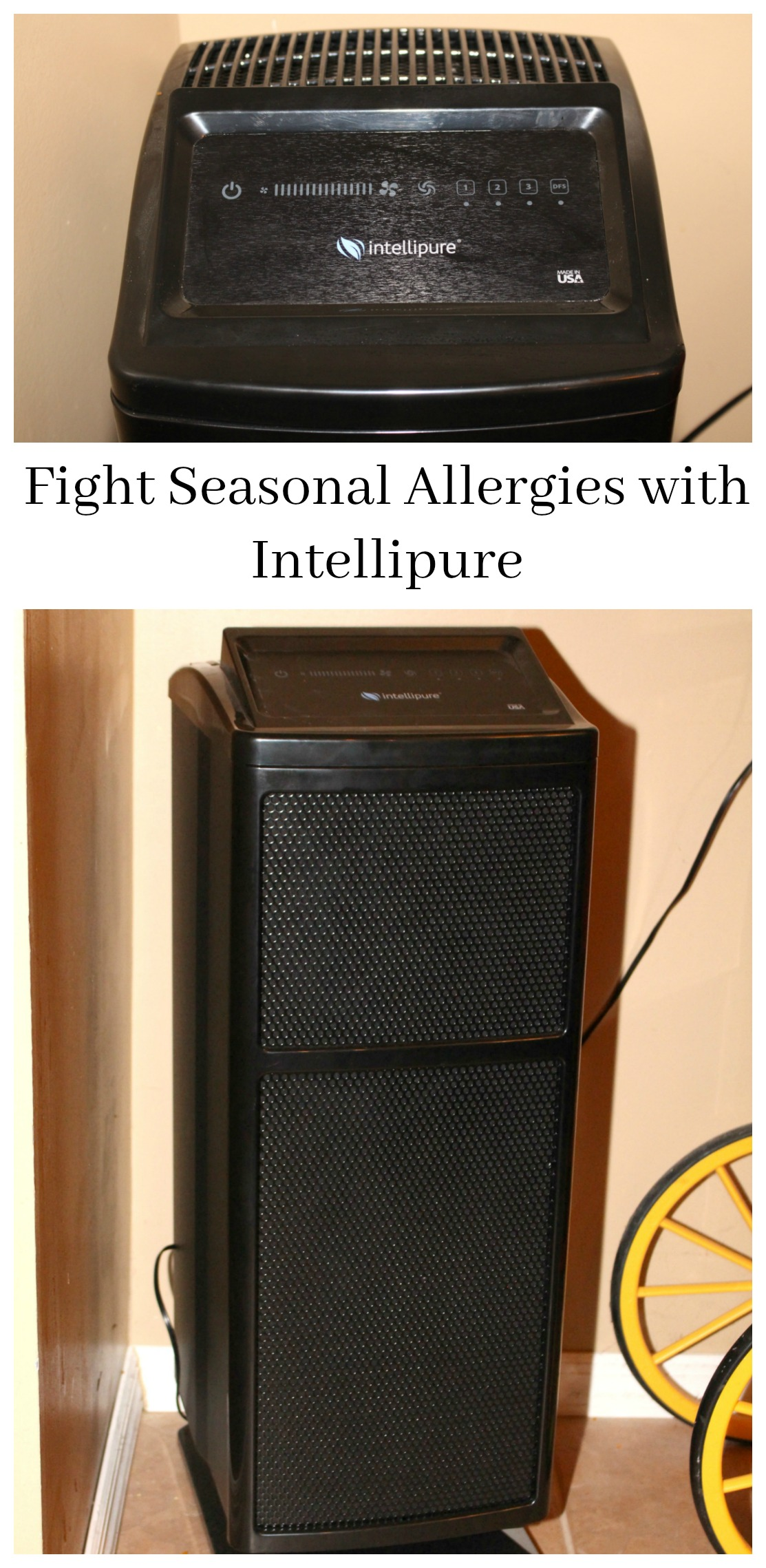 Fight Allergy Symptoms with an Intellipure Air Purifier